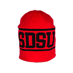 2014 Nike Sideline Players Beanie- Red