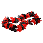 Red & Black Spirit Lei