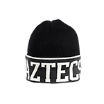Aztecs Roll Up Beanie - Black