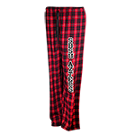 SDSU Aztecs Plaid Flannel Pants - Red and Black