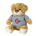 SD Spear Plush Bear Fred