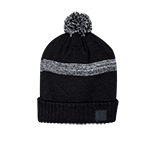 Nike Textured Pom Beanie- Black