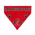 San Diego State Pet Bandana-Red