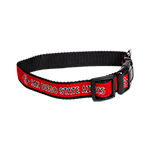 Medium San Diego State Pet Collar