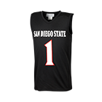 2015 Toddler Aztec Calendar Basketball Jersey-Black