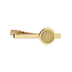 University Seal Tie Bar- Gold