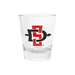 SD Spear Aztecs Shot Glass- 1.75oz