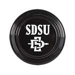 SDSU SD Spear Frisbee- Black