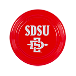 SD Spear Frisbee-Red