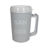 SD Spear Plastic Mug-Gray