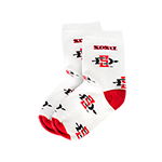 Youth SD Spear Socks-Red & White