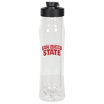 San Diego State Insulated Water Bottle- Black