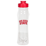 San Diego State Insulated Water Bottle- Red