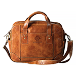 Online Exclusive- Tan Leather Business Case
