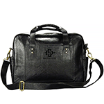 Online Exclusive- Black Leather Business Case