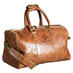 Online Exclusive- Leather Duffel Bag