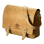 Online Exclusive- Leather Messenger Bag