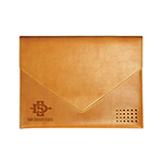 Online Exclusive- Tan Leather Document Folder