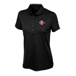 Women's Nike SD Spear Embroidered Polo-Black