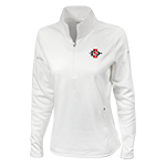 Women's Nike Golf 1/4 Zip Jacket-White