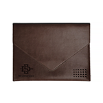 Online Exclusive- Brown Leather Document Folder