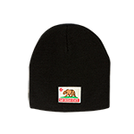 San Diego State California Bear Beanie- Black