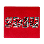 SDSU Tribal Print Mouse Pad-Red