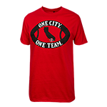 One City One Team Tee-Red