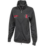 Women's SD Spear Alumni Zip Sweatshirt-Charcoal