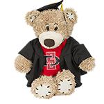 Stitchez Graduation Plush Bear