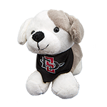 SD Spear Plush Puppy