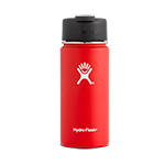 Hydro Flask 16 oz Wide Mouth Flip Lid-Lava Red