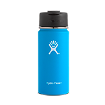 Hydro Flask 16 oz Wide Mouth Flip Lid-Pacific Blue