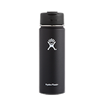 Hydro Flask 20 oz Wide Mouth Flip Lid-Black