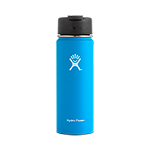 Hydro Flask 20 oz Wide Mouth Flip Lid-Pacific Blue
