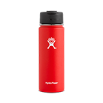 Hydro Flask 20 oz Wide Mouth Flip Lid-Lava Red