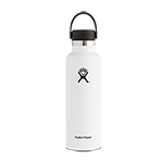 Hydro Flask 21 oz Standard Mouth Flex Cap-White
