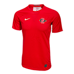 2017 Nike Sideline SD Spear Fitted Tee-Red