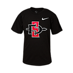 Toddler Nike SD Spear Tee-Black