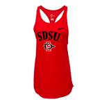Women's Nike SD Spear Gym Tank-Red