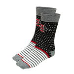 SD Spear Polka Dot Dress Socks
