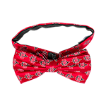 SD Spear Bow Tie-Red