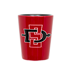 SDSU Aztecs SD Spear Shot Glass-Red