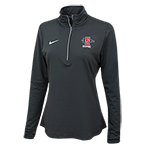 Women's Nike Dri-Fit Alumni 1/2 Zip-Charcoal
