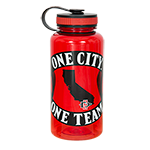 One City One Team Water Bottle-Red