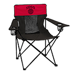 Aztec Calendar Tailgate Chair-Red & Black