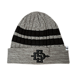 SD Spear Permafrost Cuff Beanie-Gray