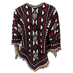 SD Spear SDSU Aztecs Knit Poncho