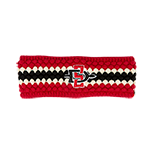 Women's Pearl Knit SD Spear Earband-Red & Black