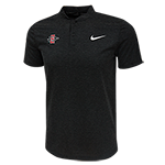 Nike SD Spear Collarless Polo-Charcoal